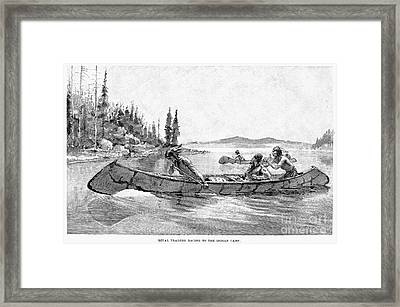 Canada Fur Trade Framed Print by Granger