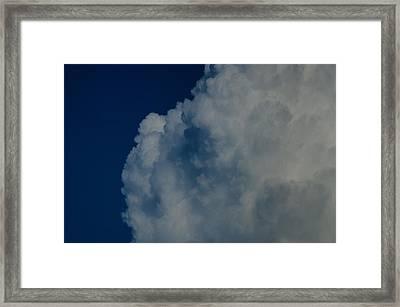 Cumulonimbus Clouds Framed Print by One Rude Dawg Orcutt