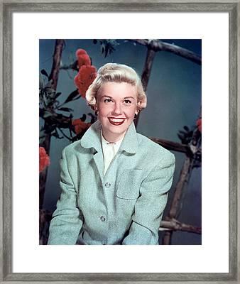 Doris Day, Warner Brothers, 1950s Framed Print by Everett