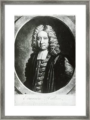 Edmond Halley, English Polymath Framed Print by Science Source