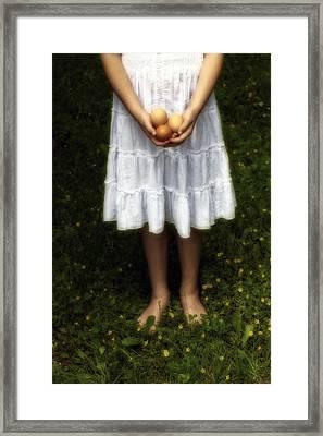 Eggs Framed Print by Joana Kruse