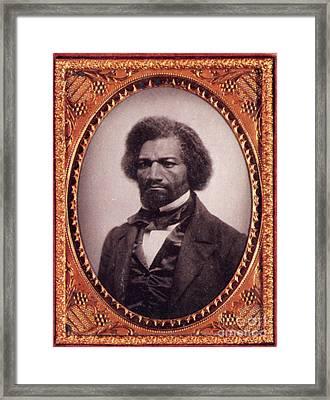 Frederick Douglass African-american Framed Print