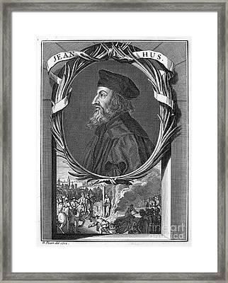 Jan Hus (c1369-1415) Framed Print by Granger