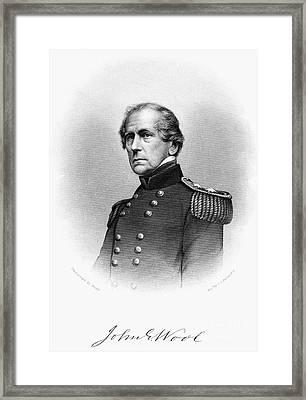 John Ellis Wool (1784-1869) Framed Print by Granger