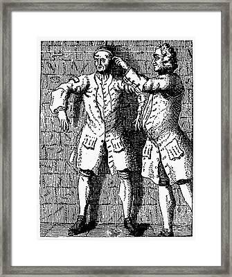 London: Debtors Prison Framed Print