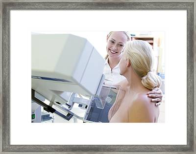 Mammography Framed Print by