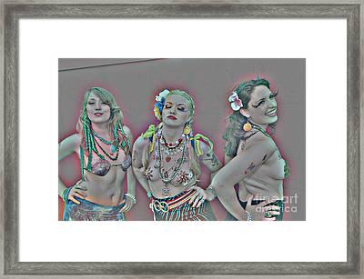 Mermaid Parade 2011 Coney Island Framed Print