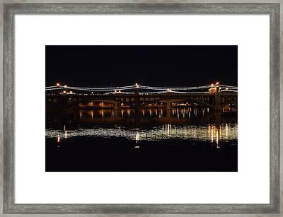 Night Light Framed Print by Alberto Sanchez