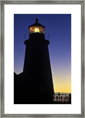 Pemaquid Point Lighthouse Framed Print by John Greim