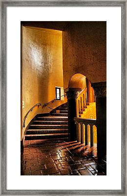 Santa Barbara Court House Framed Print