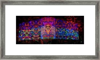7 Walkers Framed Print