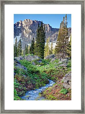 Wasatch Mountains Utah Framed Print by Utah Images
