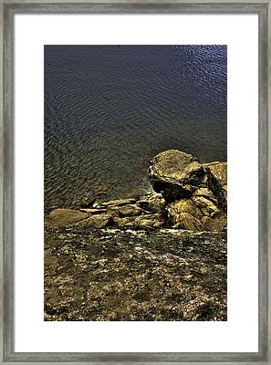 Where Do The Gods Come From?? Framed Print by Grover Woessner