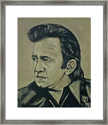 70's Johnny Framed Print by Pete Maier