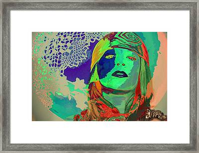 70's World Framed Print by Jan Amiss Photography