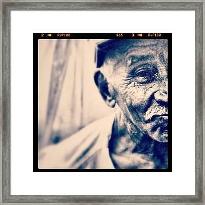 Instagram Photo Framed Print by Ritchie Garrod