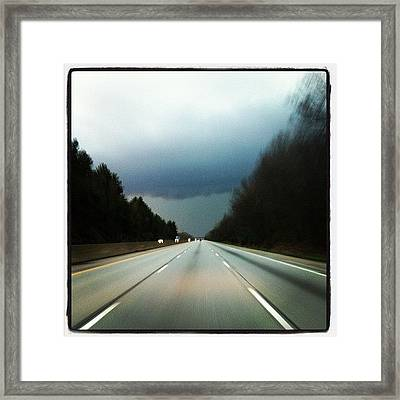 Instagram Photo Framed Print by  Abril Andrade Griffith