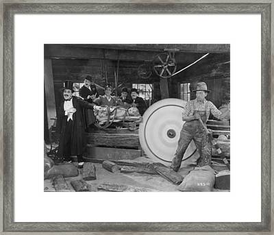 Silent Film Still Framed Print by Granger