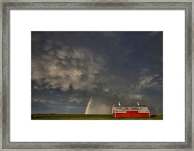 Abandoned Farm Framed Print by Mark Duffy
