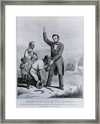 Abraham Lincoln, 16th American President Framed Print