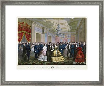 Abraham Lincoln (1809-1865) Framed Print