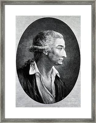 Antoine-laurent Lavoisier, French Framed Print