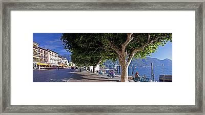 Ascona - Ticino Framed Print