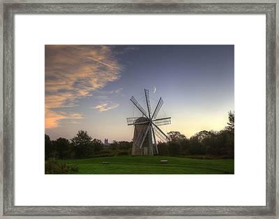 8 Blade Windmill  Framed Print