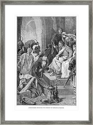 Charlemagne (742-814) Framed Print