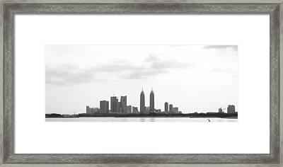 Dubai Framed Print by Sladjana Lazarevic