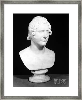 George Gordon Byron (1788-1824) Framed Print by Granger