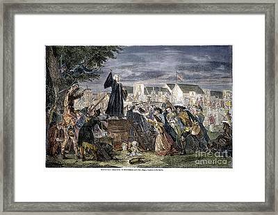 George Whitefield Framed Print by Granger