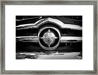 8 In Chrome - Bw Framed Print