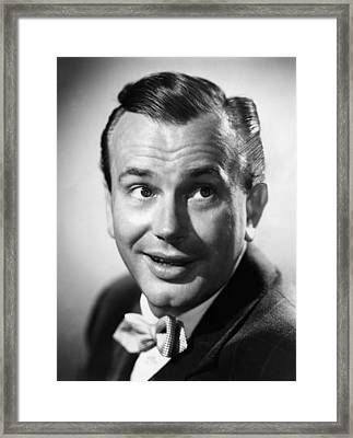Jack Paar 1918-2004, American Framed Print by Everett