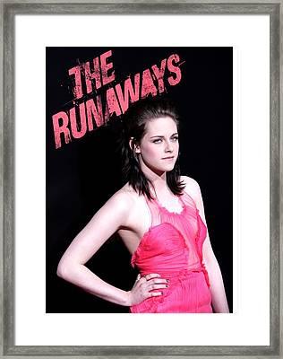 Kristen Stewart At Arrivals For The Framed Print