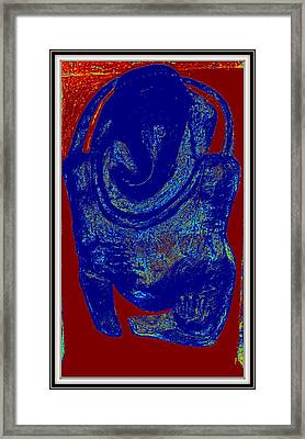 Lord Ganesha Framed Print by Anand Swaroop Manchiraju