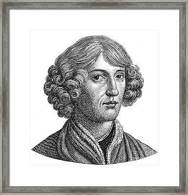 Nicolaus Copernicus, Polish Astronomer Framed Print by Science Source