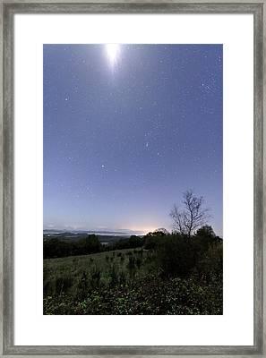 Night Sky Framed Print by Laurent Laveder