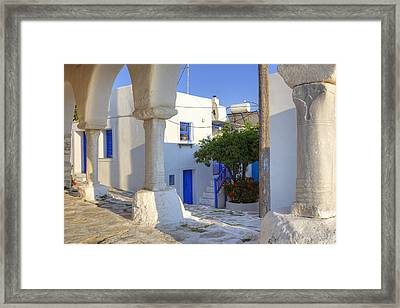 Paros - Cyclades - Greece Framed Print by Joana Kruse