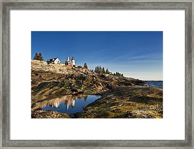 Pemaquid Point Lighthouse Framed Print by John Greim