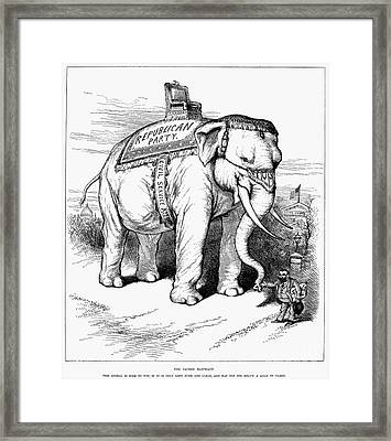 Presidential Campaign, 1884 Framed Print by Granger