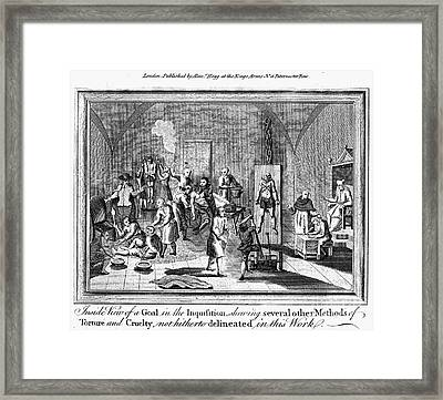 Spanish Inquisition Framed Print