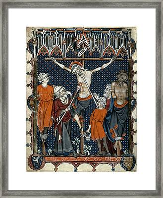 The Crucifixion Framed Print by Granger