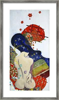 Ubume Framed Print by Jung ji Lee