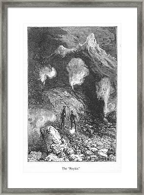 Verne: Journey Framed Print by Granger