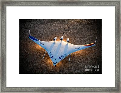 X48b Blended Wing Body Framed Print by Nasa