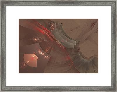 823 Framed Print