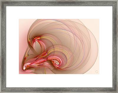858 Framed Print by Lar Matre