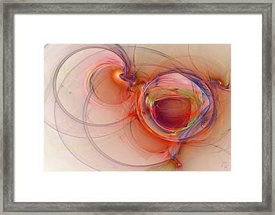 860 Framed Print