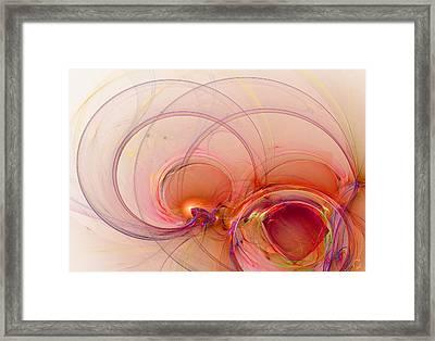 863 Framed Print